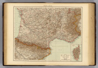 "France, South. (with) Corsica. (Published at the office of ""The Times,"" London, 1895)"