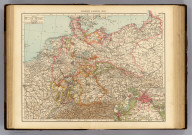 "Germany, general map. (with) Berlin and environs. (Published at the office of ""The Times,"" London, 1895)"