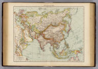 "Asia, general map. (Published at the office of ""The Times,"" London, 1895)"