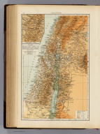 "Palestine. (with) Highlands of Judea. (Published at the office of ""The Times,"" London, 1895)"