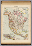 "North America. (with) Southern Mexico. (Published at the office of ""The Times,"" London, 1895)"