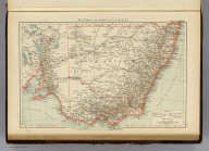 """Victoria and New South Wales. (Published at the office of """"The Times,"""" London, 1895)"""