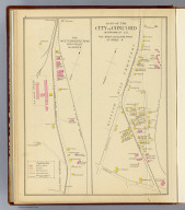 Part of the city of Concord, Merrimack Co. The West Concord Road in Ward 4. The West Concord Road continued in Ward 4. (D.H. Hurd & Co., Boston. 1892)