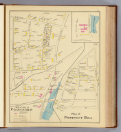 Part of city of Concord: Plan of Prospect Hill. (D.H. Hurd & Co., Boston. 1892)