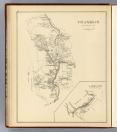 Franklin, Merrimack Co. (with) Lake City, town of Franklin. (D.H. Hurd & Co., Boston. 1892)