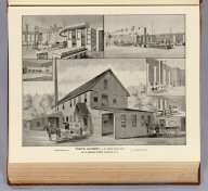 Toof's Laundry, J.H. Toof, proprietor, established 1879 ... No. 22 Warren Street, Concord, N.H. Drawn by Whinnery. D.H. Hurd & Co., Boston. (1892)