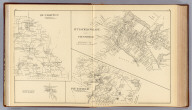 Pittsfield Village, town of Pittsfield. Dunbarton, Merrimack Co. Pittsfield, Merrimack Co., N.H. (with) Dunbarton Centre, town of Dunbarton. (D.H. Hurd & Co., Boston. 1892)