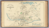 Map of the city and town of Manchester, N.H., 1892. (D.H. Hurd & Co., Boston)