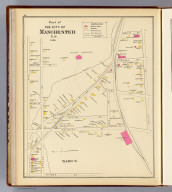 Part of the city of Manchester, N.H., 1892. Ward 6. (D.H. Hurd & Co., Boston. 1892)