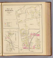 Part of Keene, Cheshire Co., N.H. Ward 1. (with) Part of Ward 2. (D.H. Hurd & Co., Boston. 1892)