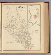 Part of Keene, Cheshire Co., N.H. Ward Three. (with) Part of Ward 5. (D.H. Hurd & Co., Boston. 1892)