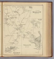 Marlow, Cheshire Co. (with) Rindge, town of Rindge. (with) Marlow P.O., Cheshire Co. (with) Munsonville P.O., town of Nelson. (D.H. Hurd & Co., Boston. 1892)