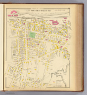 Part of the city of Portsmouth. (D.H. Hurd & Co., Boston. 1892)