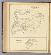 Orford, Grafton Co. (with) Orford P.O., town of Orford. (D.H. Hurd & Co., Boston. 1892)