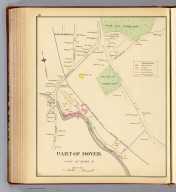 Part of Dover, part of Ward 4. (D.H. Hurd & Co., Boston. 1892)