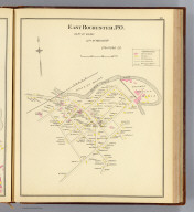 East Rochester P.O., part of Ward 1, city of Rochester, Strafford Co. (D.H. Hurd & Co., Boston. 1892)