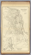 Great Falls, town of Somersworth, Stafford Co. (with) Somersworth, Strafford County. (D.H. Hurd & Co., Boston. 1892)