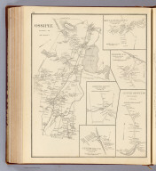 Ossipee, Carroll Co. (with) Moultonville P.O. ... (with) Ossipee P.O. ... (with) Water Village P.O. ... (with) Center Ossipee P.O. ... (with) Centerville P.O. ... (all) town of Ossipee, Carroll Co. (D.H. Hurd & Co., Boston. 1892)