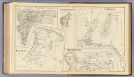 Carroll, Coos Co. (with) White Mt. Region, Coos Co. & Hart's Location, Carroll Co. (with) West Stewarstown P.O., Stewartstown, Coos Co. (with) Dalton, Coos Co. (with) Stewartstown, Coos Co. (D.H. Hurd & Co., Boston. 1892)