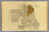Map of the city of San Francisco showing the streets and the burnt area, 1906. Earthquake Investigation Commission. Britton & Rey, engravers, San Francisco. (Carnegie Institution of Washington. 1908)