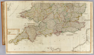(A new map of England & Wales. (South half). Drawn from several surveys &c. on the new projection : corrected from astronomical observations & the places marked where the observatns. were made. By Thos. Kitchin, Geogr. The canals inserted to 1792 by J. Phillips, Surveyor. London, Published by Laurie & Whittle, No. 53, Fleet Street, as the act directs, 12th May, 1794)