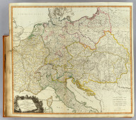 A new map of the post roads of Germany and Hungary, with the adjacent kingdoms, republics, and states. From the large map published at Vienna with additions and improvements by J. Enouy, Geogr. Published by Laurie & Whittle, 53 Fleet Street, London, as the act directs July 31st, 1802. Wigzell sculp.