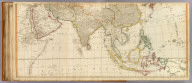 (Asia and its islands according to d'Anville, divided into empires, kingdoms, states, regions, &c. &c. with the European possessions and settlements in the East Indies and an exact delineation of all the discoveries made in the eastern parts by the English under Captn. Cook, Vancouver & Peyrouse. Middle sheets. London, Publish'd by Laurie & Whittle, No. 53, Fleet Street, Feby. 2d, 1799)