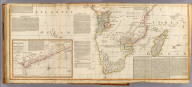 (Africa, with all its states, kingdoms, republics, regions, islands, &ca. South half. (with) A particular chart of the Gold Coast ... Improved and inlarged from d'Anville's map, to which have been added the discoveries of Parke, Vaillant, Brown &c. Also a particular chart of the Gold Coast, wherein are distinguished all the European forts and factories, by S. Boulton: and also a summary description relative to the trade and natural produce, manners and customs of the African continent and islands. London, Published by Laurie & Whittle, No. 53, Fleet-Street, as the act directs 12th May, 1800)