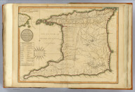 Plan of the isle of Trinidad, from actual surveys made in the year 1797. Published 12th Decr. 1800 by Robert Laurie & James Whittle, No. 53 Fleet Street, London. Engraved by George Allen, 19 Shoe Lane, Fleet Str.