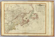 A new and correct map of the British colonies in North America. Comprehending Eastern Canada with the province of Quebec, New Brunswick, Nova Scotia, and the government of Newfoundland, with the adjacent states of New England, Vermont, New York, Pennsylvania and New Jersey. London, Publish'd by Laurie & Whittle, 53 Fleet Street, 12th May, 1794.