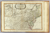 A new and general map of the middle dominions belonging to the United States of America, viz. Virginia, Maryland, the Delaware-Counties, Pennsylvania, New Jersey &c., with the addition of New York, & of the greatest part of New England &c., as also of the bordering parts of the British possessions in Canada. (with) A sketch of the upper parts to shown the remainder of the lakes. London, Published by Laurie & Whittle, No. 53, Fleet Street, as the act directs 12th May, 1794.
