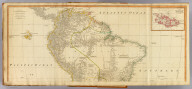 (A map of South America containing Tierra-Firma, Guayana, New Granada, Amazonia, Brasil, Peru, Paraguay, Chaco, Tucuman, Chili and Patagonia, from Mr. d'Anville with several improvements and additions, and the newest discoveries. North half. (with) A chart of Falkland's Islands named by the French Malouine Islands and discovered by Hawkins, in the year 1593. London, Published by Laurie & Whittle, No. 53 Fleet Street, as the act directs 12th May, 1794)
