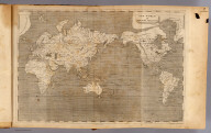 The World on Mercator's projection. The water by Gt. Fox. The writing by W. Harrison Junr. (Published by John Conrad & Co., Philadelphia. 1804)