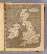 United Kingdoms of Great Britain and Ireland. From Arrowsmith's map of the British Isles. Hooker sc. (Published by John Conrad & Co., Philadelphia. 1804)