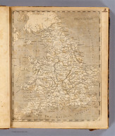 England and Wales. From the various surveys of England. (Benjamin?) Jones sc. (Published by John Conrad & Co., Philadelphia. 1804)