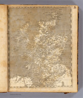 Scotland. From Genl. Roy's map corrected in positions and the surveys of the different shires. Hooker sc. (Published by John Conrad & Co., Philadelphia. 1804)