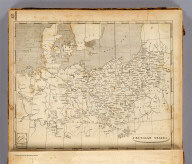 Prussian States. From the map published at Berlin 1800. (Published by John Conrad & Co., Philadelphia. 1804)