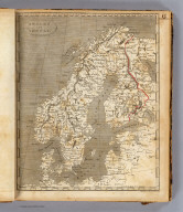 Sweden and Norway. Engraved by F. Shallus. (Published by John Conrad & Co., Philadelphia. 1804)