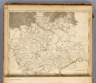 Germany north of the Mayn. From Chanchards Germany. Engraved by Thomas Marshall. Ruld. by Hooker. (Published by John Conrad & Co., Philadelphia. 1804)