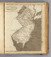 New Jersey. Drawn by S. Lewis. Tanner sc. (Published by John Conrad & Co., Philadelphia. 1804)