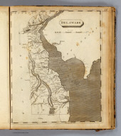 Delaware. Drawn by S. Lewis. Engrav'd by Lawson. (Published by John Conrad & Co., Philadelphia. 1804)