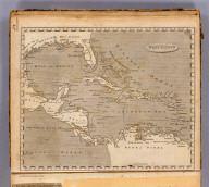 West Indies. From various authorities. Marshall sculp. (Published by John Conrad & Co., Philadelphia. 1804)