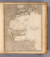 West Africa. Shallus sc. (Published by John Conrad & Co., Philadelphia. 1804)