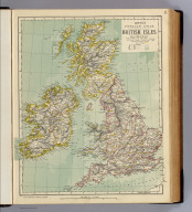 British Isles. Letts's popular atlas. Letts, Son & Co. Limited, London. (1883)