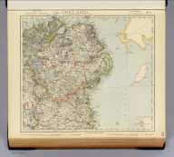 Statistical map of Ireland. No. 2. Letts's popular atlas. Letts, Son & Co. Limited, London. (1883)