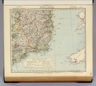 Statistical map of Ireland. No. 4. Letts's popular atlas. Letts, Son & Co. Limited, London. (1883)