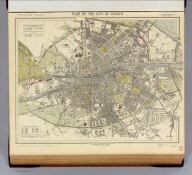 Plan of the city of Dublin. Letts's popular atlas. Letts, Son & Co. Limited, London. (1883)