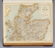 Statistical map of Scotland. No. 2. Letts's popular atlas. Letts, Son & Co. Limited, London. (1883)