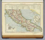 Italy. No. 2. Letts's popular atlas. Letts, Son & Co. Limited, London. (1883)