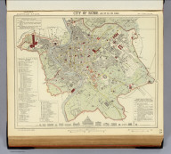 City of Rome as it is in 1882. Letts's popular atlas. Letts, Son & Co. Limited, London. (1883)